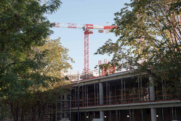 Bouygues työmaa, Pariisi