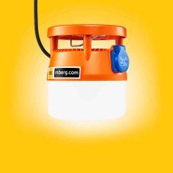 matala Mberg 230V oranssi
