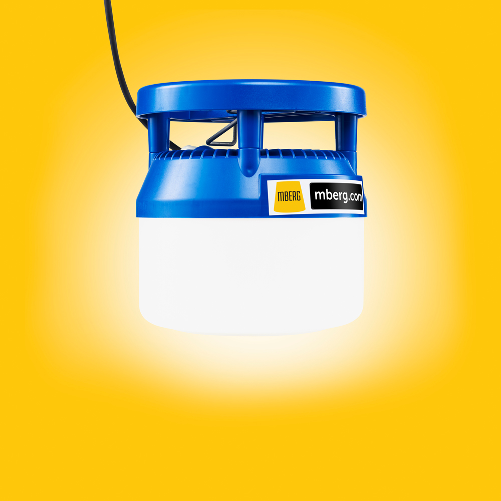 MBerg 48V LED-työmaavalaisin