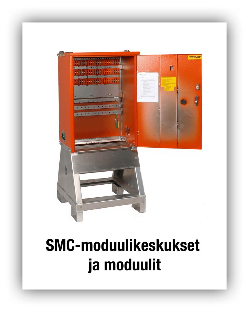 SMC-moduulikeskukset