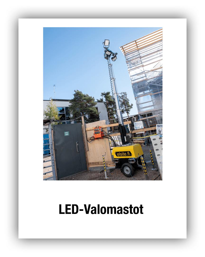 LED-valomastot