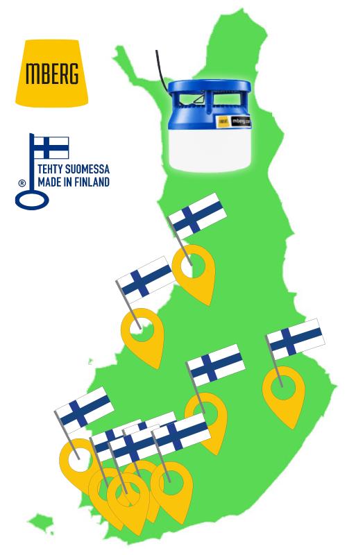 MBerg led työmaavalaisimet valmistetaan Suomessa